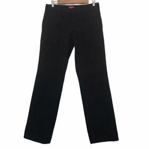 Dickies Straight Fit Black Pants Size 9 Juniors